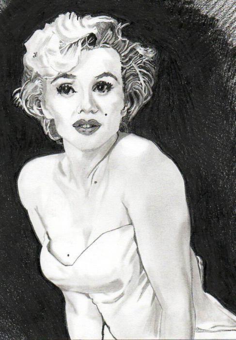 Marilyn Monroe por paco311